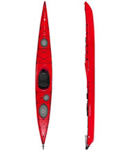Tsunami 165 Kayak with Rudder by Wilderness Systems