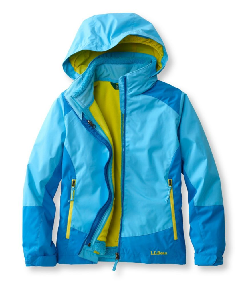 photo: L.L.Bean Girls' Wildcat 3-in-1 Parka