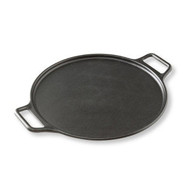 Lodge Cast-Iron Pizza Pan, 14""