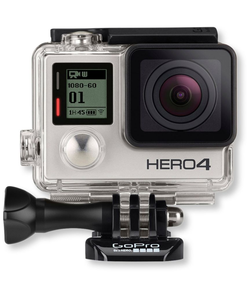 photo of a GoPro camera