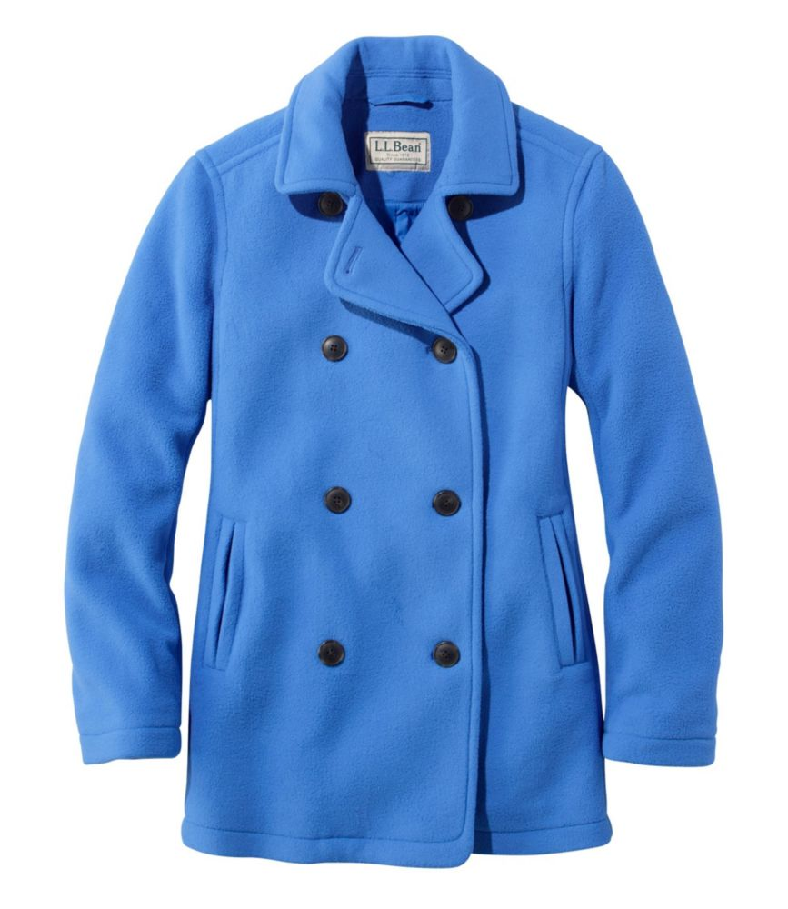 L.L.Bean Fleece Peacoat