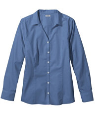 Women's Wrinkle-Free Poplin Shirt Colors