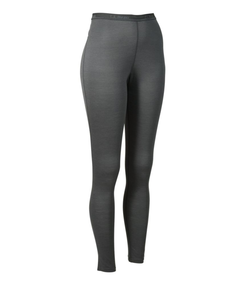 photo: L.L.Bean Women's Cresta Wool Base Layer, Pants Lightweight