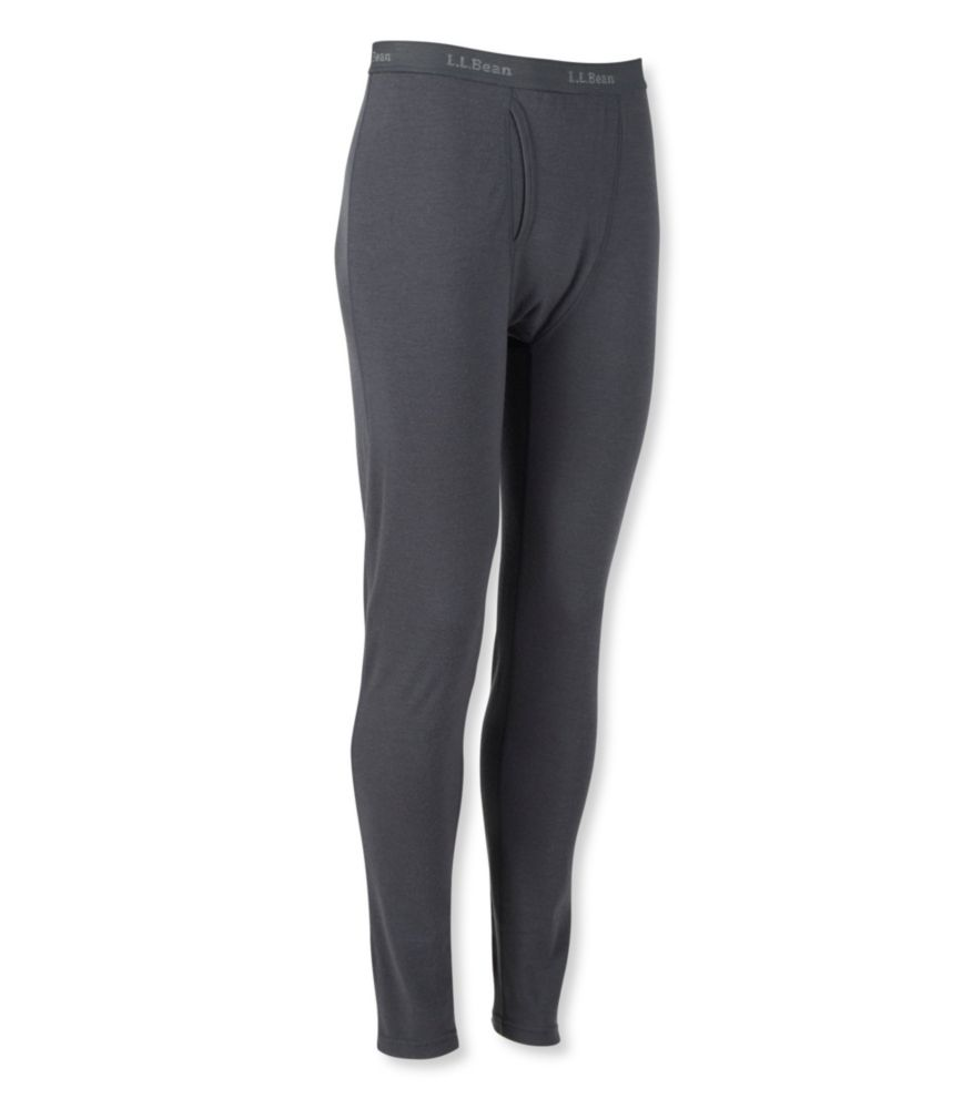 photo: L.L.Bean Men's Cresta Wool Midweight Base Layer, Pants