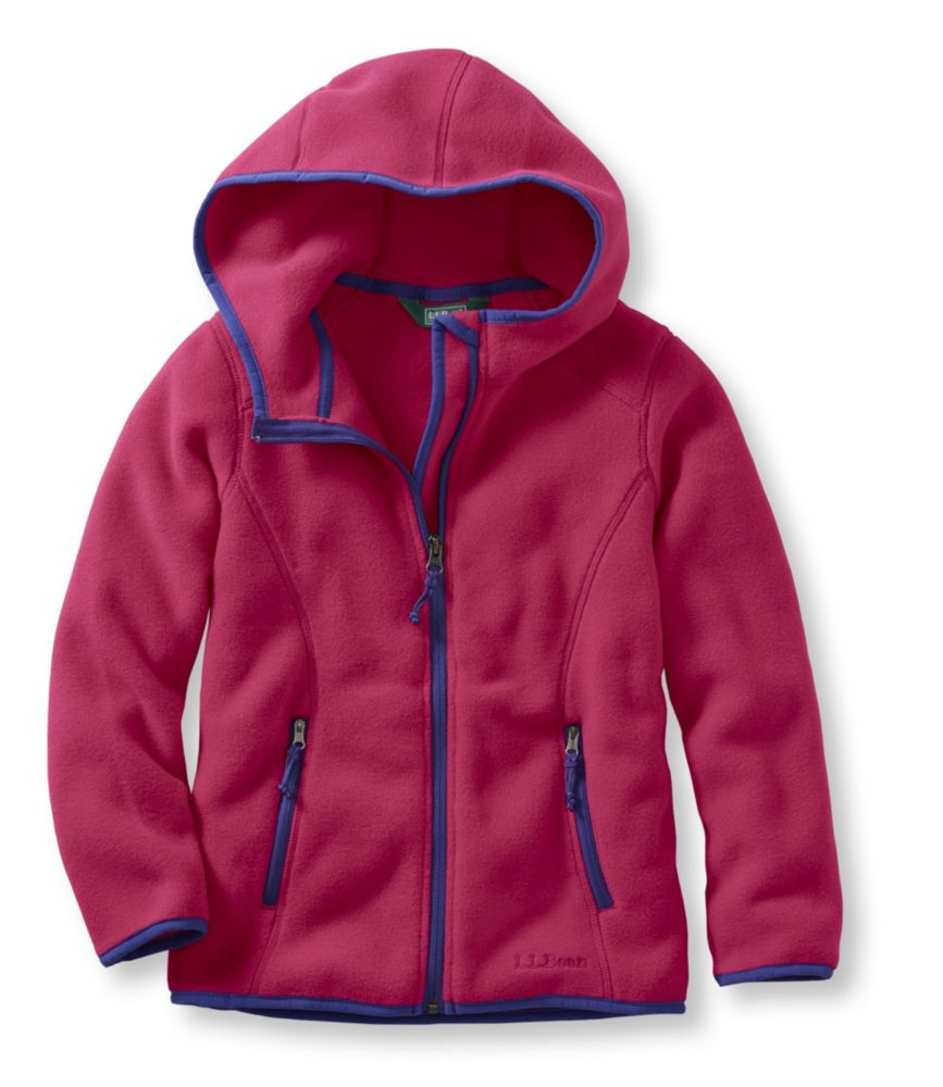 photo: L.L.Bean Women's Trail Model Fleece Hooded Jacket fleece jacket