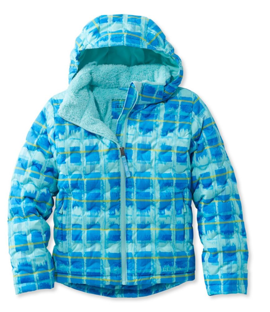 L.L.Bean Fleece-Lined Down Jacket, Print