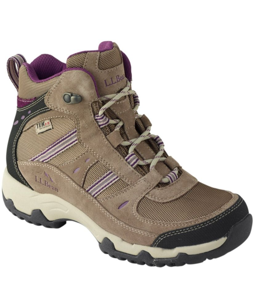 photo: L.L.Bean Women's Trail Model 4 Waterproof Hiking Boots