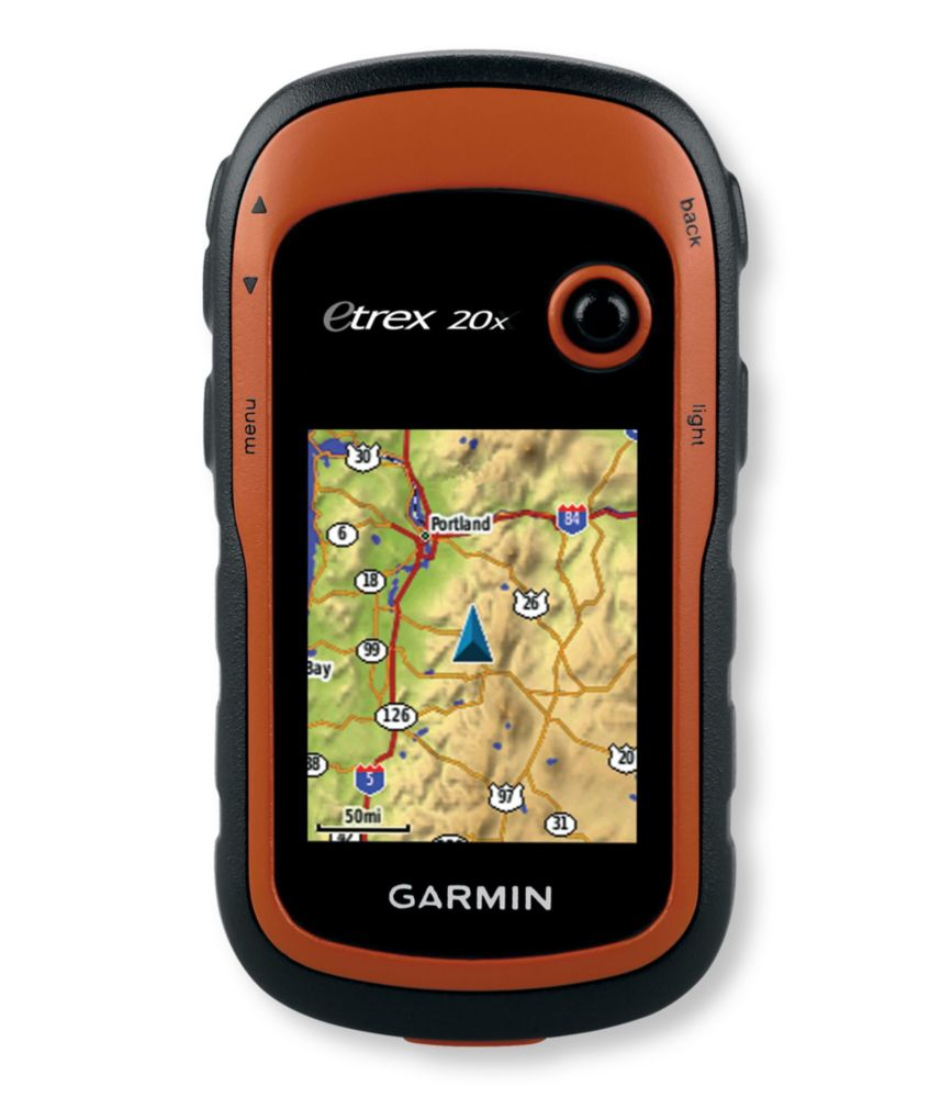 photo: Garmin eTrex 20x