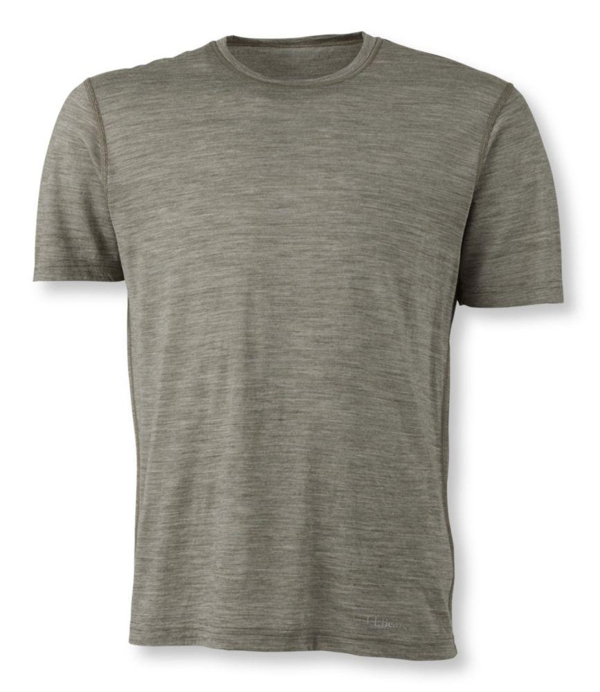photo: L.L.Bean Cresta Wool Ultralight Base Layer Short Sleeve
