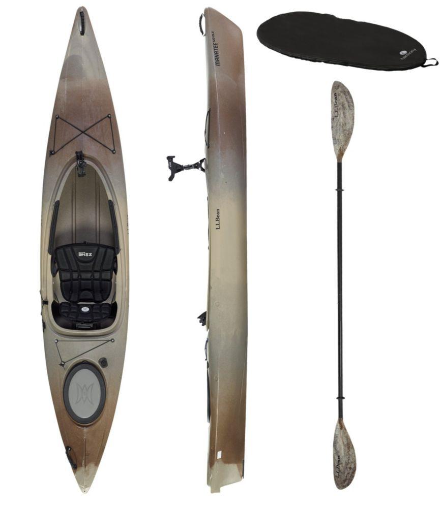 photo: L.L.Bean Manatee 12 Deluxe Angler Kayak recreational kayak