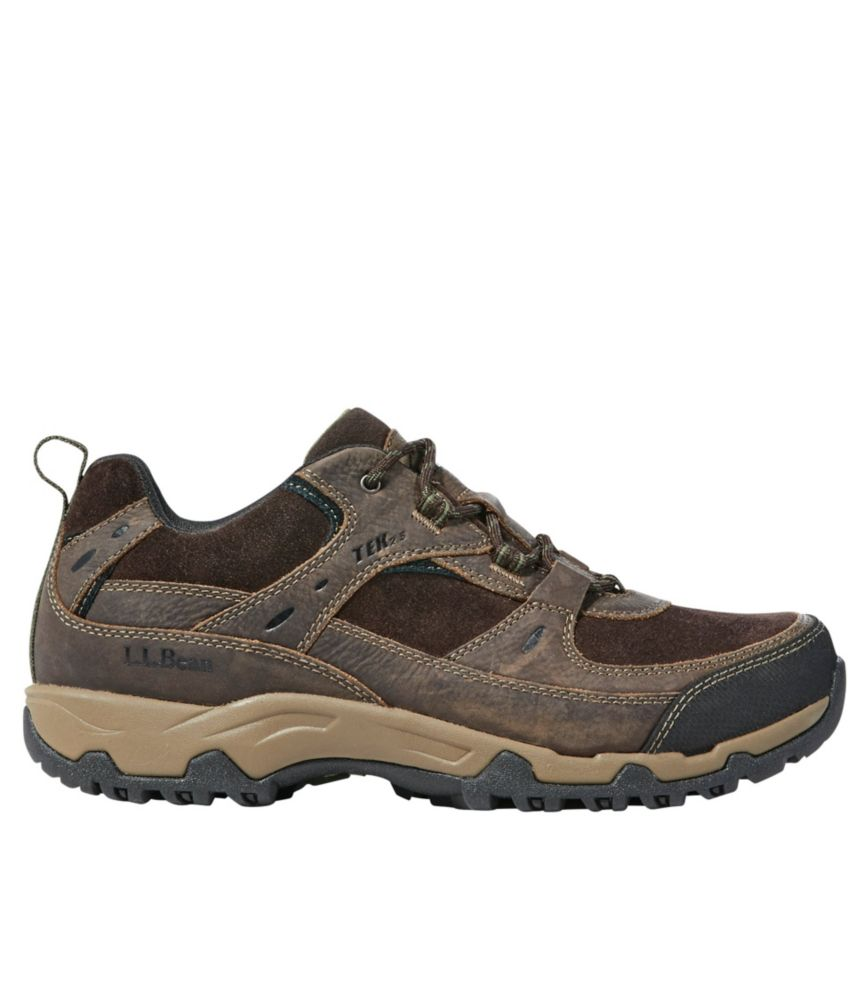 photo: L.L.Bean Men's Trail Model 4 Waterproof Hiking Shoes