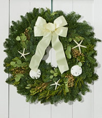 Coastal Evergreen Wreath 24