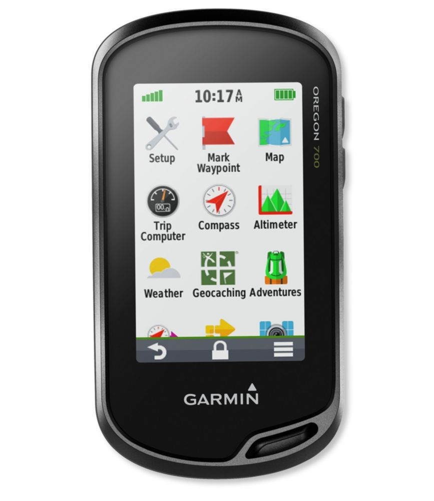 photo: Garmin Oregon 700
