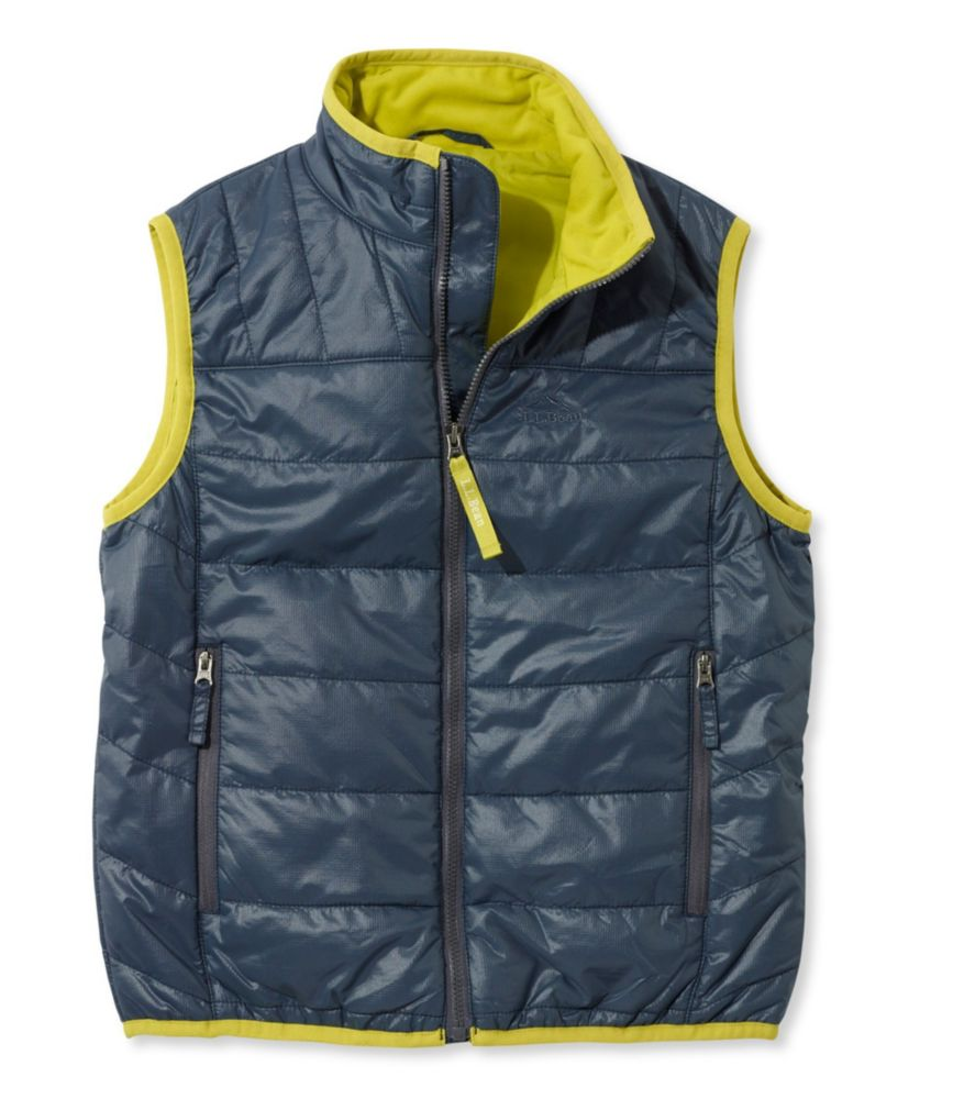 photo: L.L.Bean Boys' Puff-N-Stuff Vest