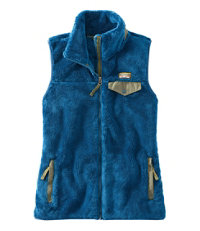 Women's Hi-Pile Fleece Vest