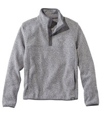 Bean's Men's Sweater Fleece Pullover