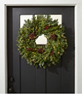 Woodland Berry Lighted Wreath