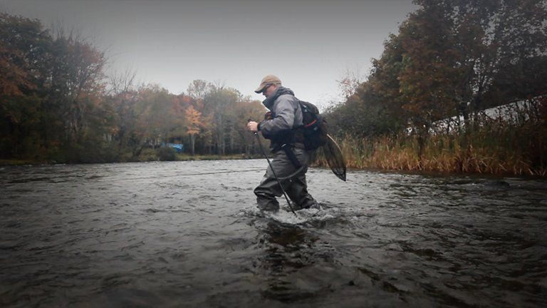 Videos from l l bean rapid river wading staff for Ll bean fishing
